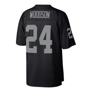 Charles Woodson Black Retired Jersey